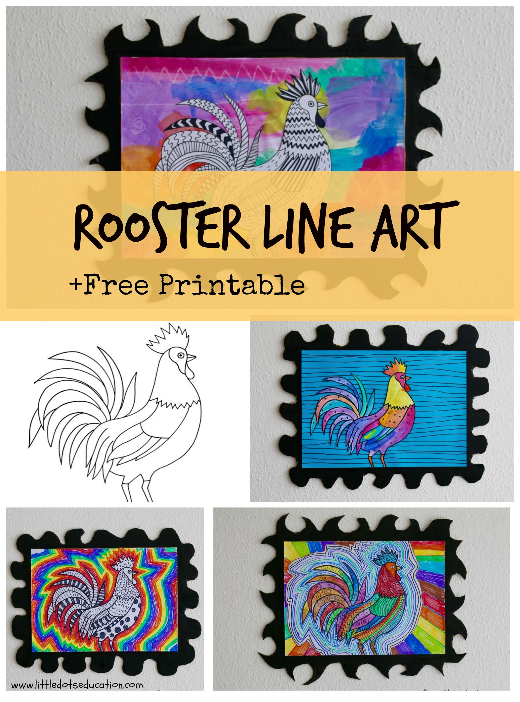 Download Free Rooster Template And Find Out How You Can