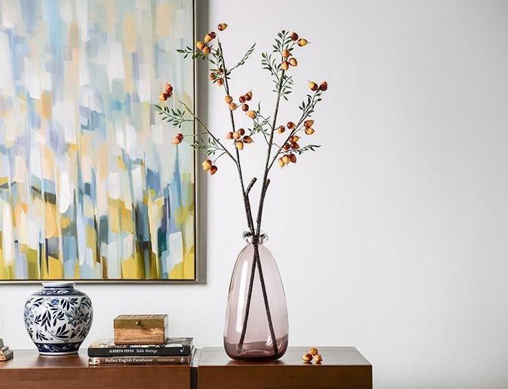 Artificial Botany Plants, Flower Arrangement, 2 Branches of