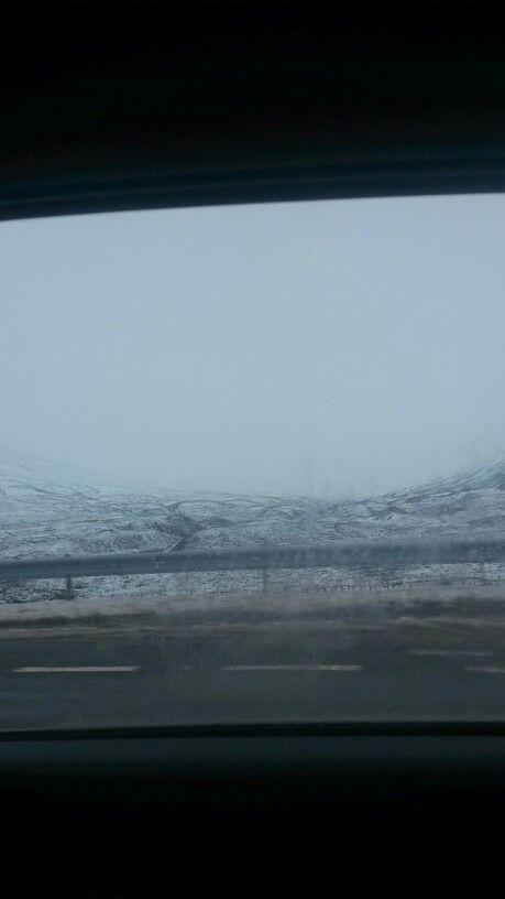 Scotland snow.