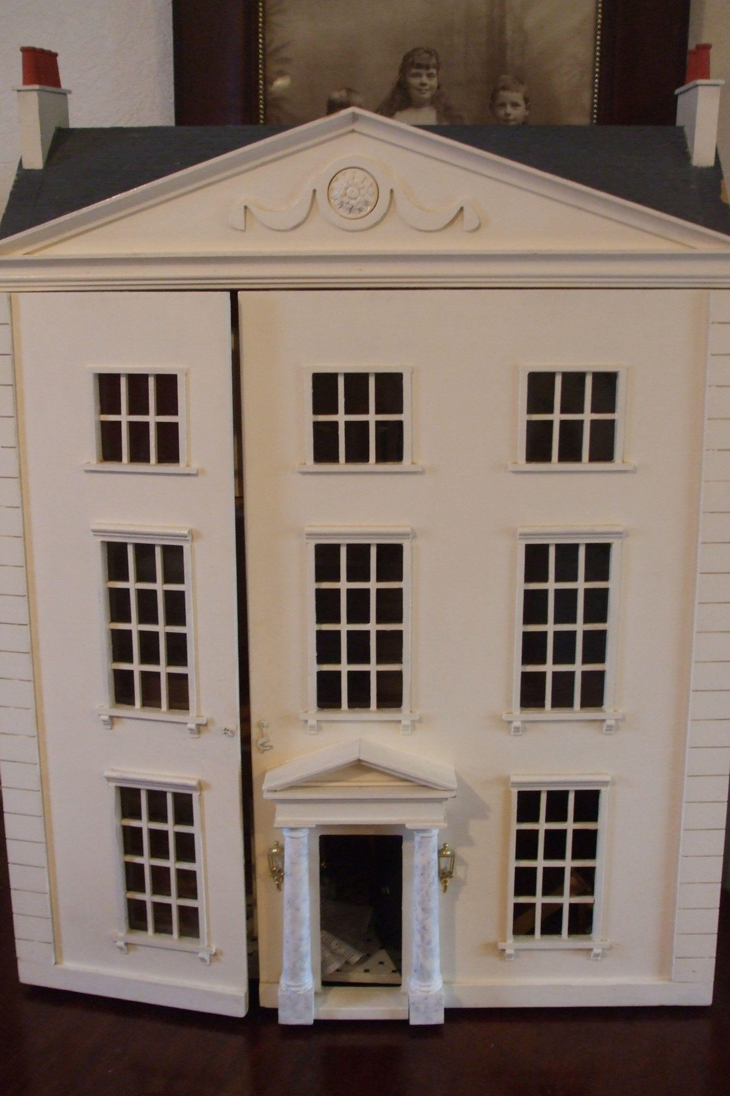 My Georgian Dollsu0027 House. One Of My Favourite Things!