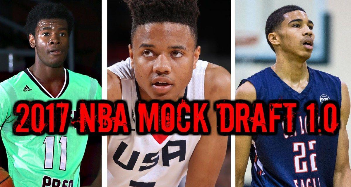 WATCH: 2017 NBA Mock Draft 1.0: Markelle Fultz Josh Jackson Jayson Tatum  #NBADraft