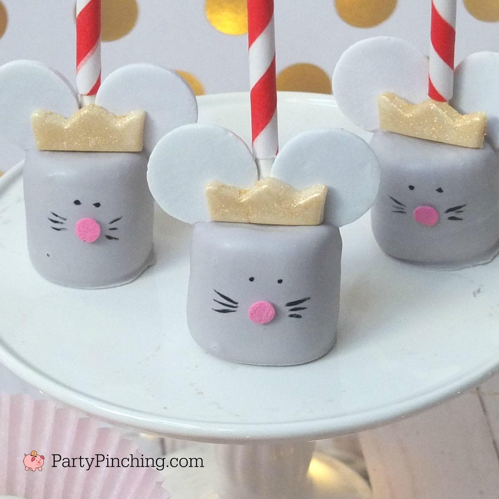 Mouse King Marshmallow Pops Easy To Make Diy Fun Sweet