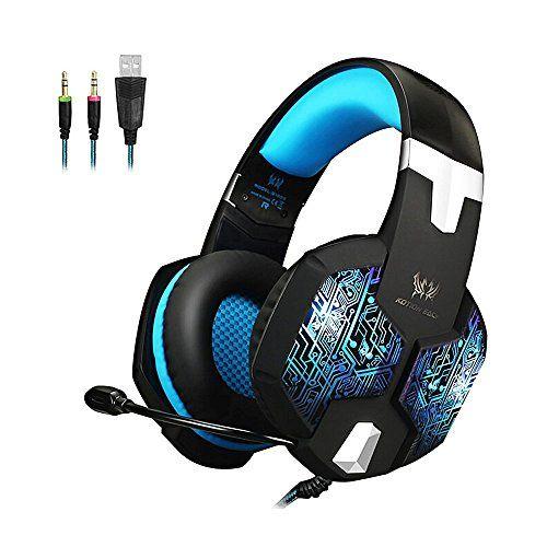 Amazon Lightning Deal 53% claimed: KSCAT KTG1000 PC Gaming Headset 3.5mm Professional Bass Stereo Stylish Breath... http://www.lavahotdeals.com/ca/cheap/amazon-lightning-deal-53-claimed-kscat-ktg1000-pc/129238