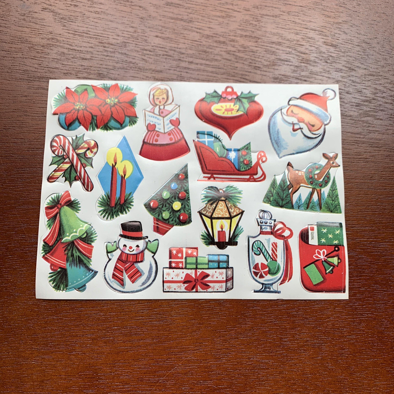 Christmas Seals 2020 Unused Christmas Seals Vintage Sheet of 15 Gummed Sticker | Etsy