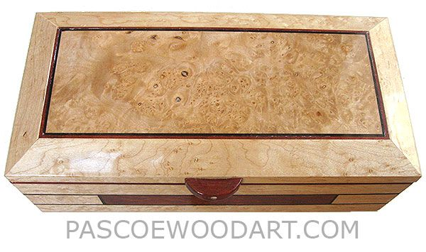 Decorative Keepsake Box Extraordinary Handmade Wood Box  Decorative Wood Keepsake Box Made Of Birds Eye Inspiration