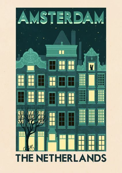 71ed41499d2 Amsterdam Canal House....can be ordered as an art print