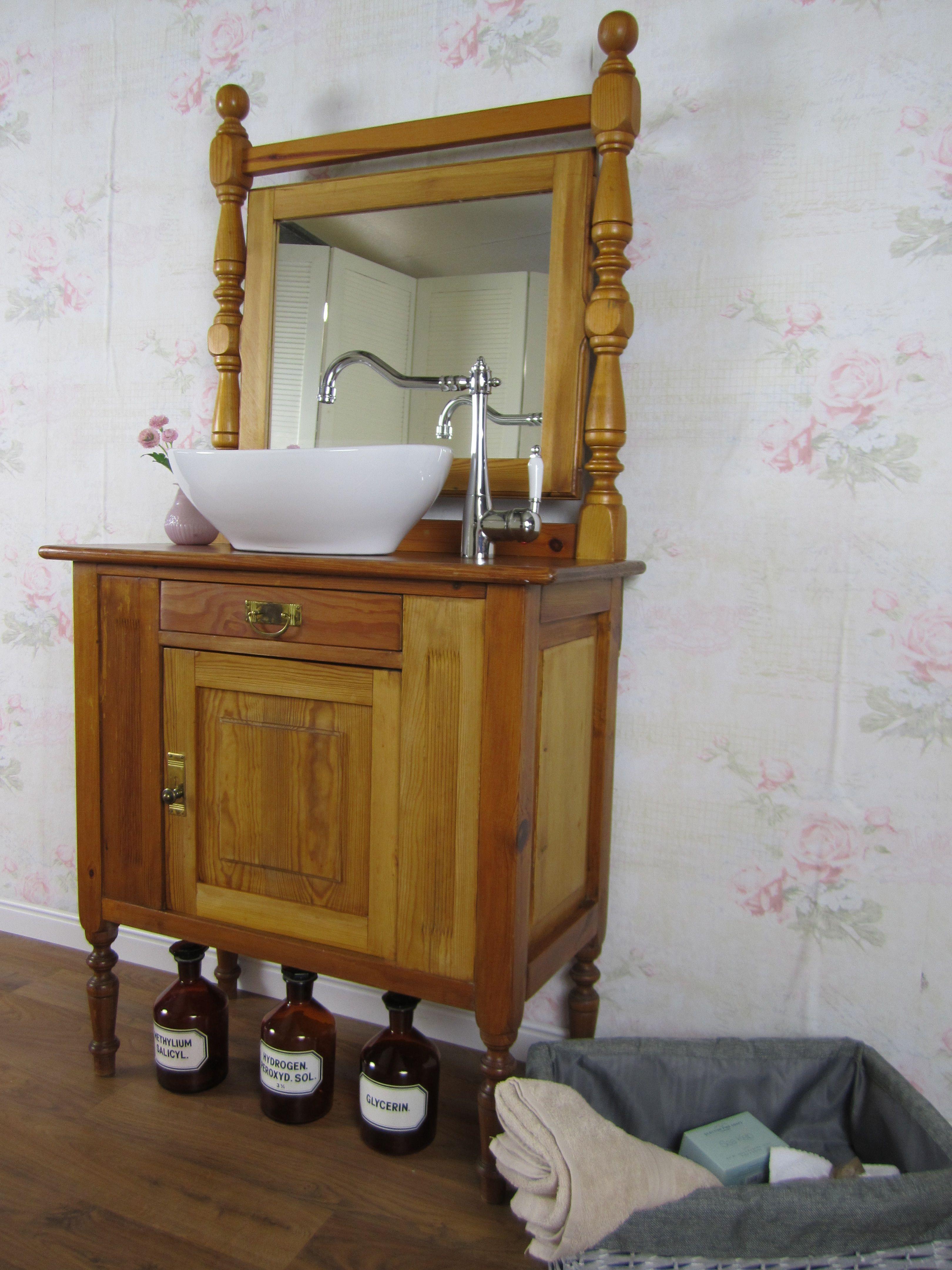 Wildeve Waschtisch Nostalgie Waschtisch Klein Waschtisch Holz