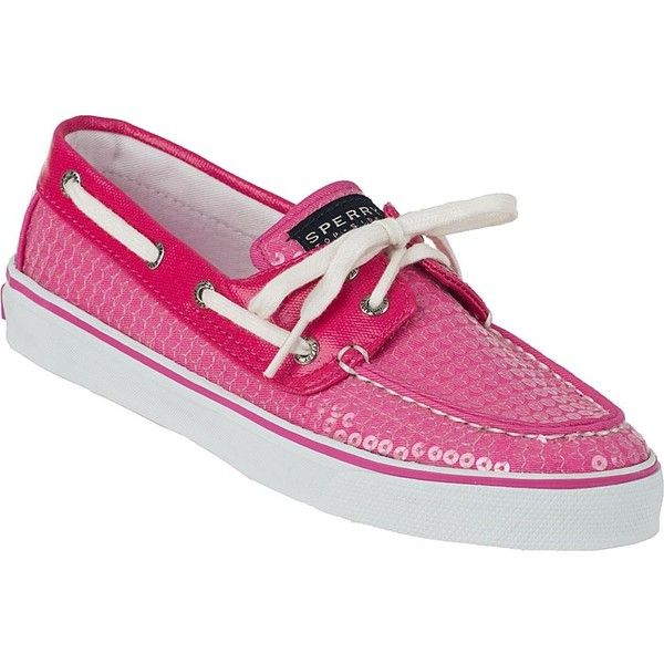 sperry top-sider bahama pink sequin shoes - ME WANT!