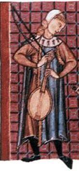 VIELLA, VIOLA, VIOLINO  L'antenato del violino è la VIELLA, di grande varietà morfologica per tutto il Medioevo grazie anche alla grande diffusione dello strumento. La viella è stata usata in tutti i generi di musica medievale come accompagnamento alla voce o per le danze, da sola o in gruppo con altri strumenti a fiato e a corde.