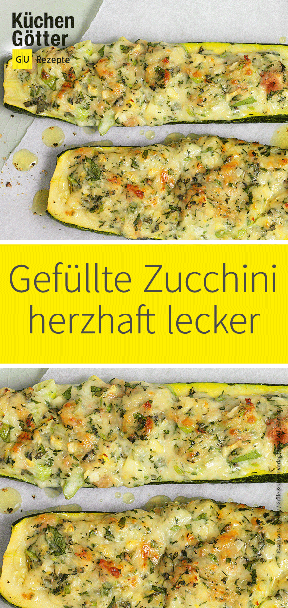 Photo of Stuffed zucchini from the grill