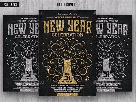 10 New Year S Eve Invitation Templates Psd Word Pdf Eps Format