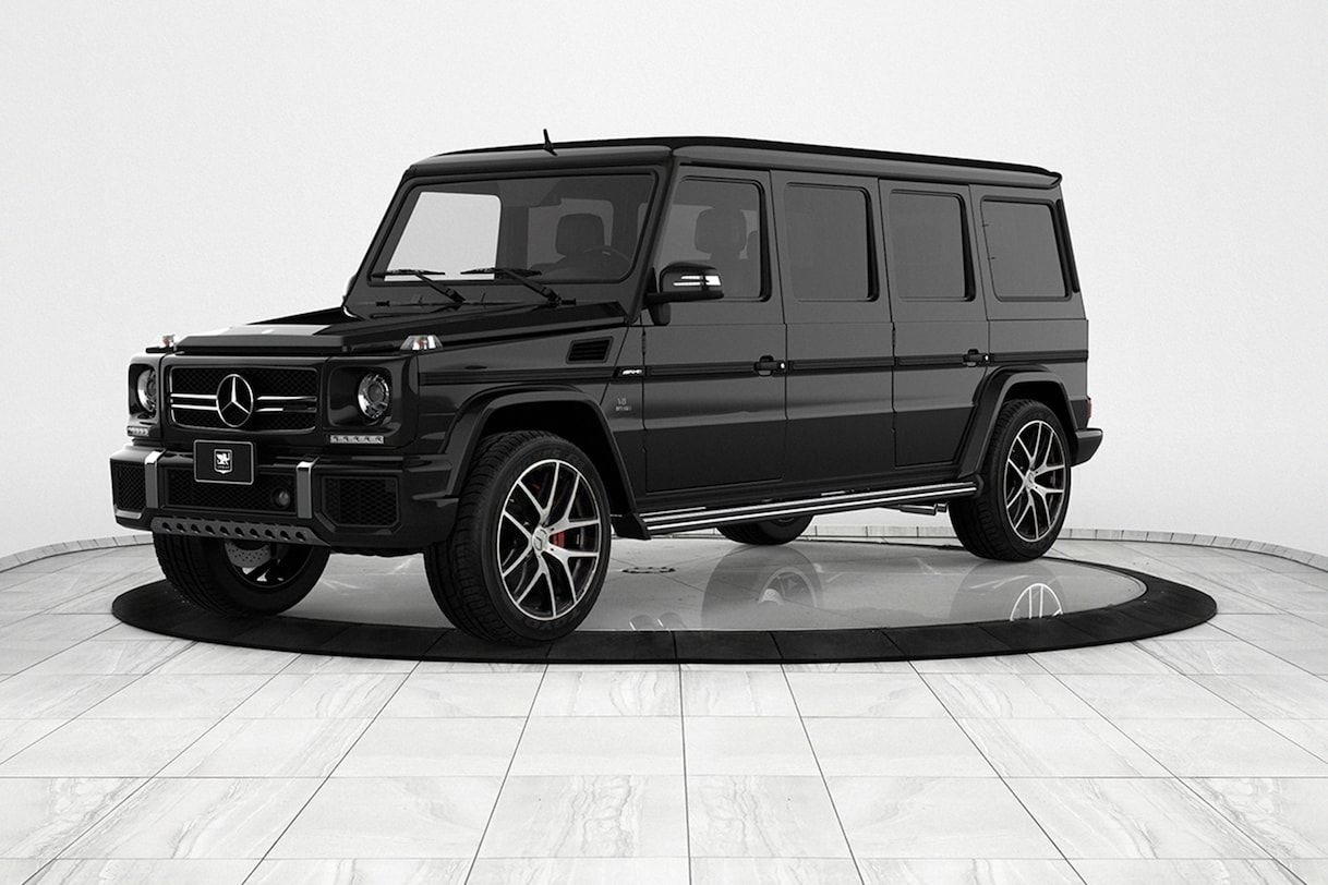 2018 Mercedes Amg G 63 By Inkas Armored Vehicles With Images