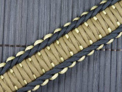 How To Make A Rigid King Cobra Paracord Buckle Bracelet Youtube