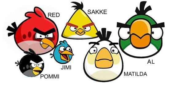 Angry Birds from Finland