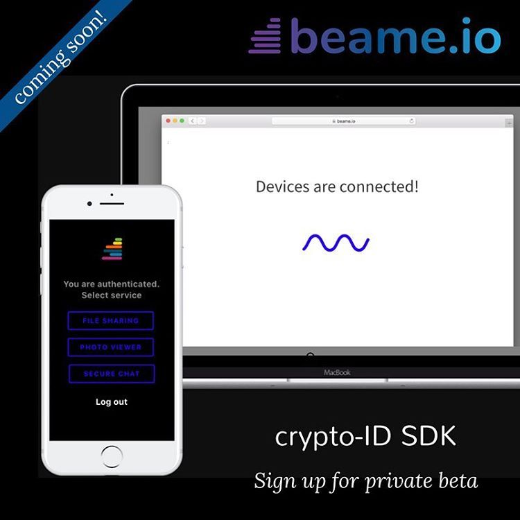 beamecryptoID sign ups are open link in bio! #encryption