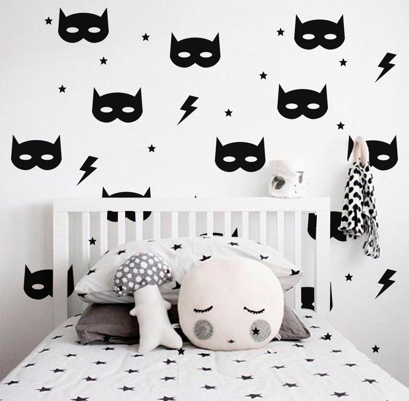 Batman Mask Wall Decal Boys Room Decal Batman Mask Vinyl Decal