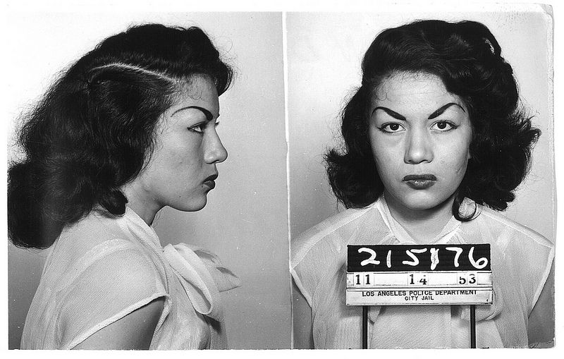 Candy Strange History - 15 vintage bad girl mugshots from between the 1940s and 1960s