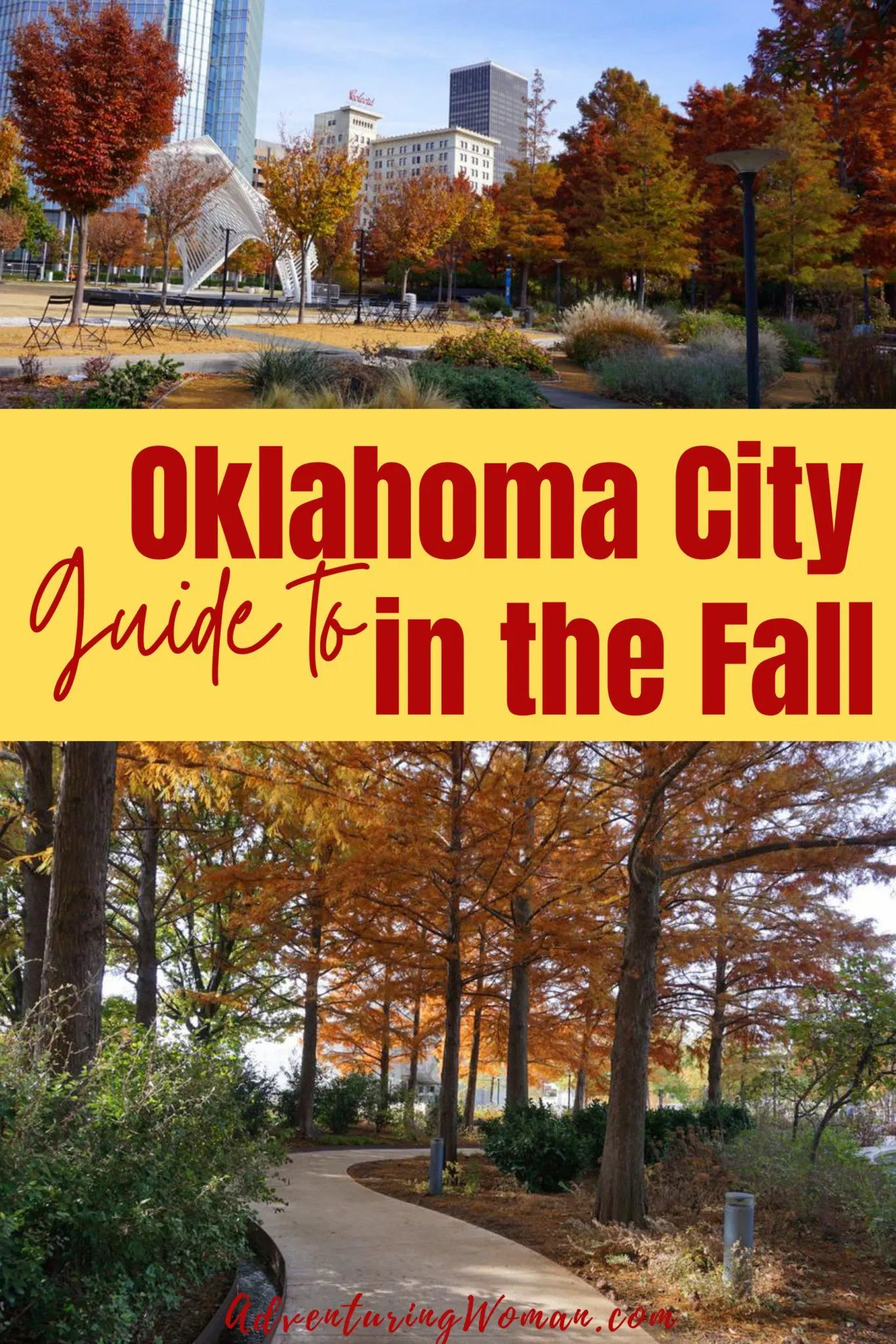 Best fall scenery in oklahoma city in 2020 oklahoma city
