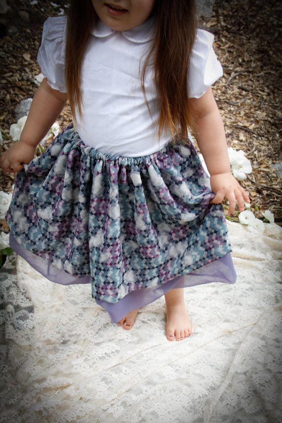 #Curtsey #Skirt #Skirts #Cute #Sheer #Doublelayered #teatime #everydaywear #partywear by misslovelymoon on #etsy