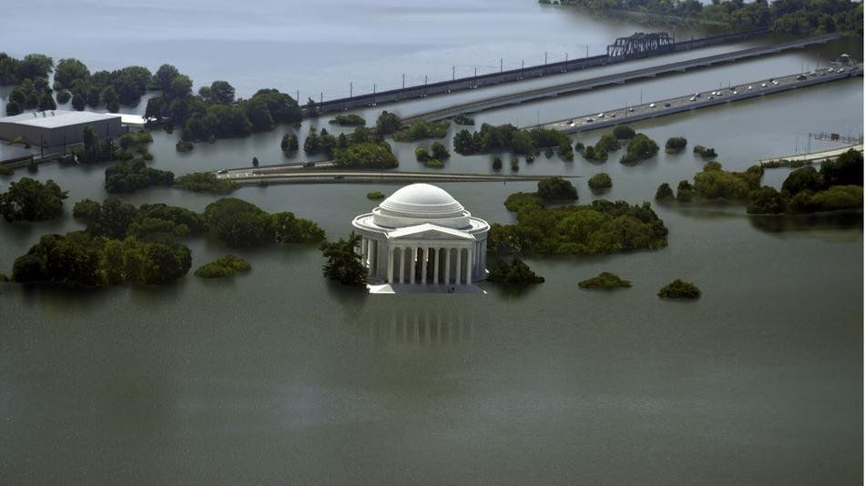 Rising Seas Swallow 8 Cities in These Climate Change GIFs