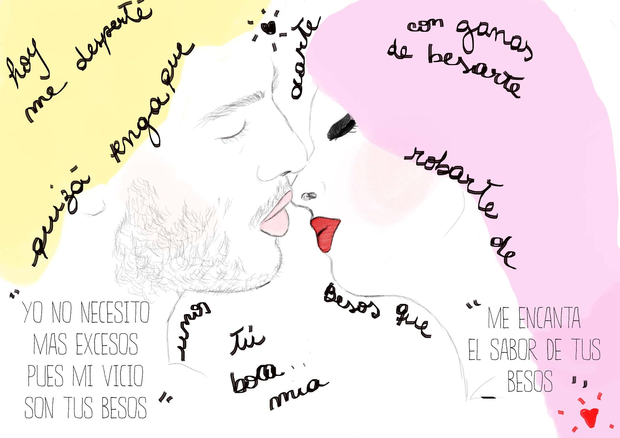 Me Gusta El Sabor De Tus Besos Besos El Sabor Vicios