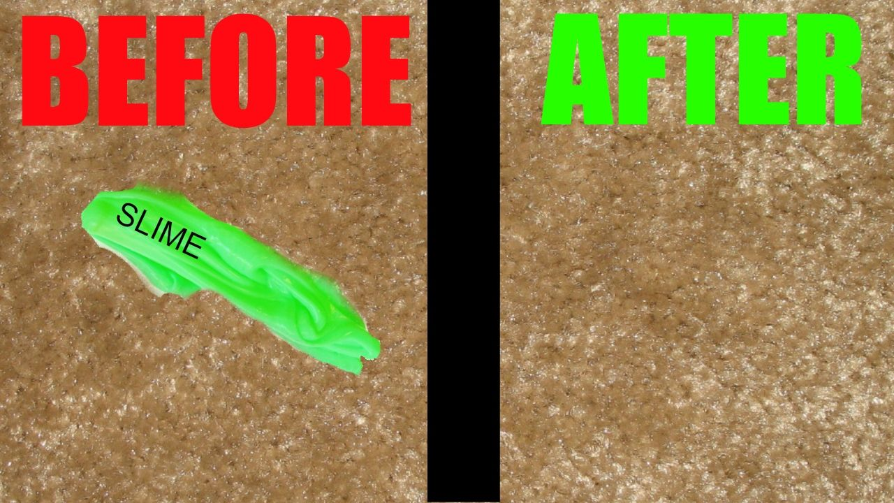 How To Get Slime Out Of Carpet And Clothing Carpet