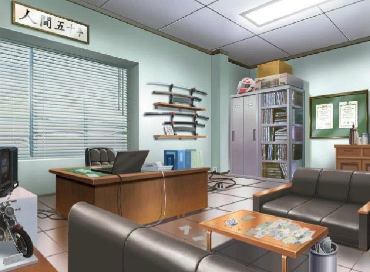 Office Anime Scenery Interior Deign Episode Interactive