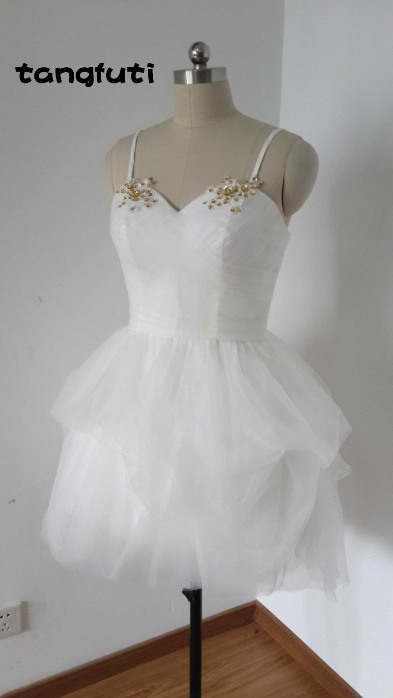Click to buy ucuc real photo homecoming dresses a line new short