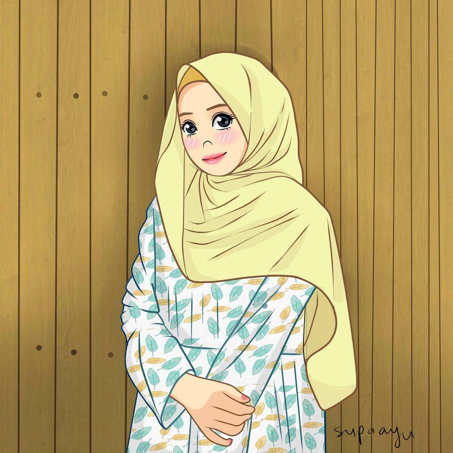 Hijab_5 by ayusufaah on DeviantArt Hijab cartoon