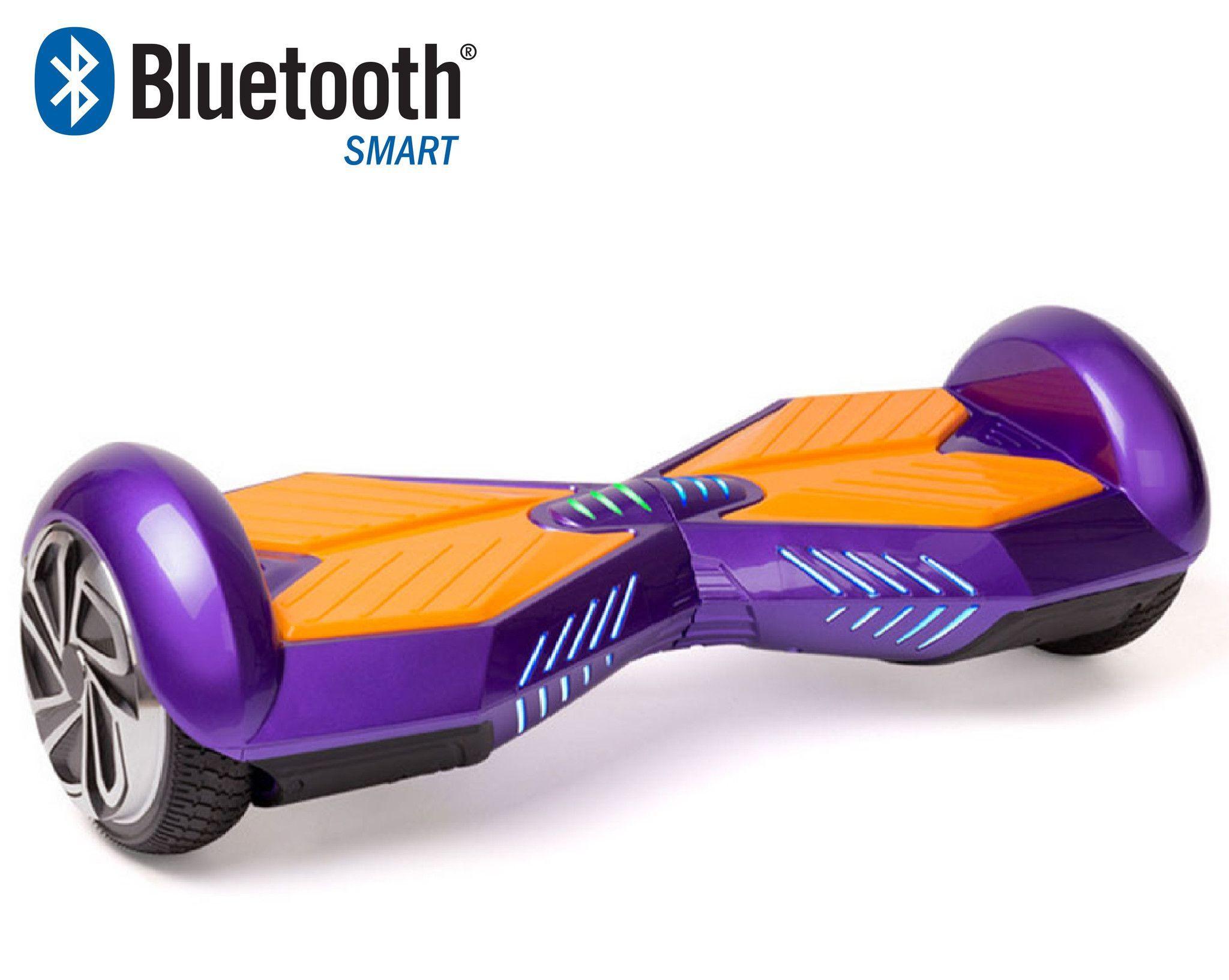 Bluetooth Lamborghini Hoverboard Purple/Gold Lifetime Warranty