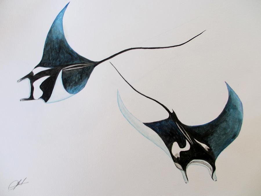 Manta Devilrays By Jack Bol Manta Ray Tattoos Ray Tattoo Stingray Tattoo