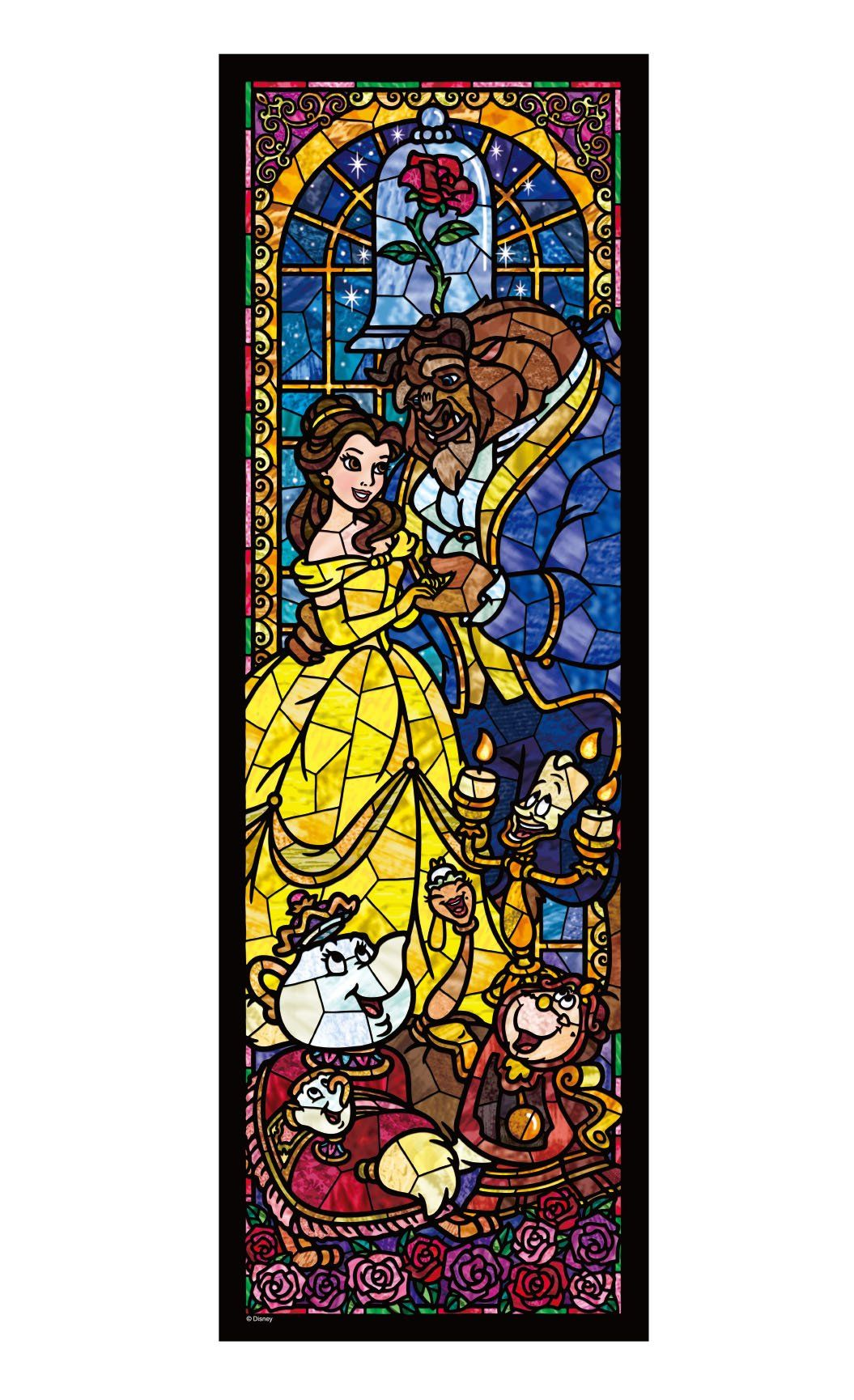 Disney Stained Glass Puzzle.Disney Stained Art Jigsaw Puzzle Can I Getta Disney