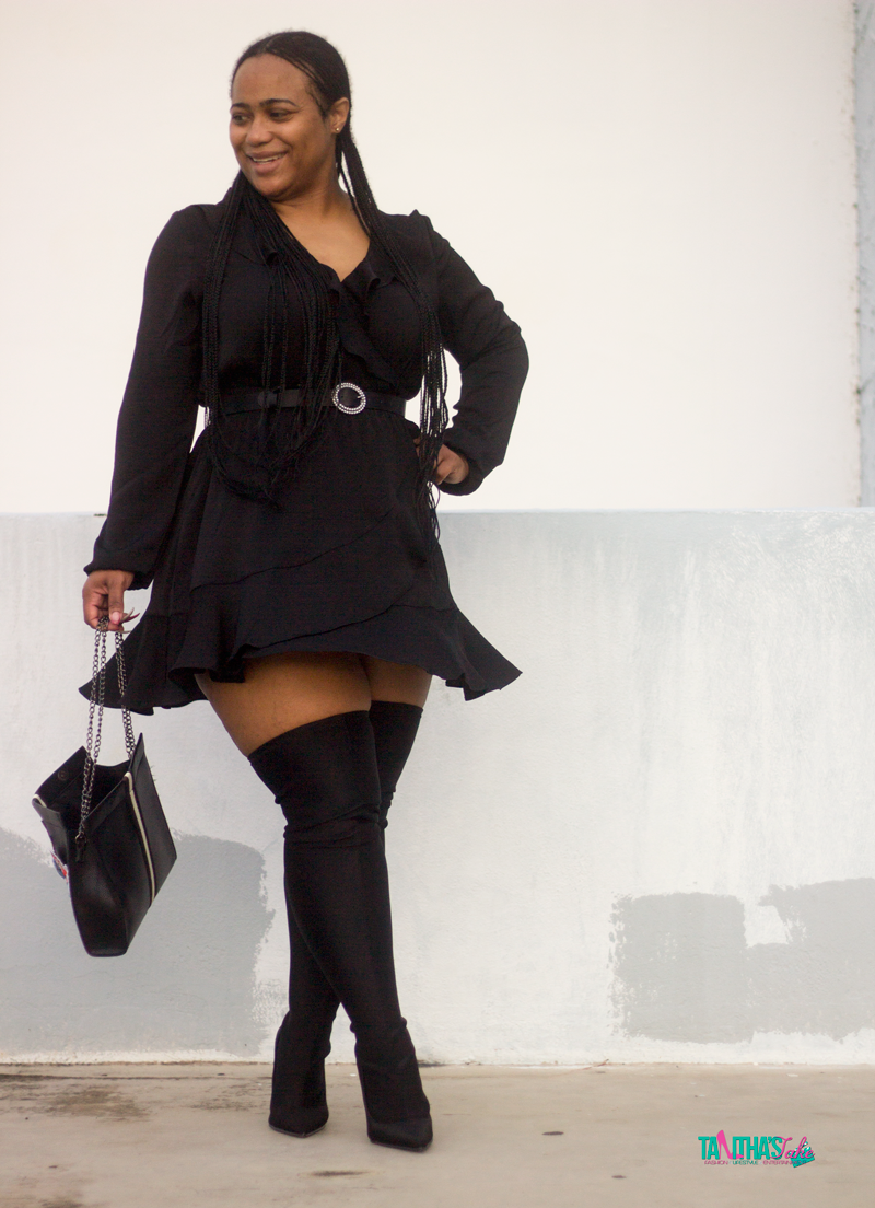 Can Short Girls Rock Thigh High Boots