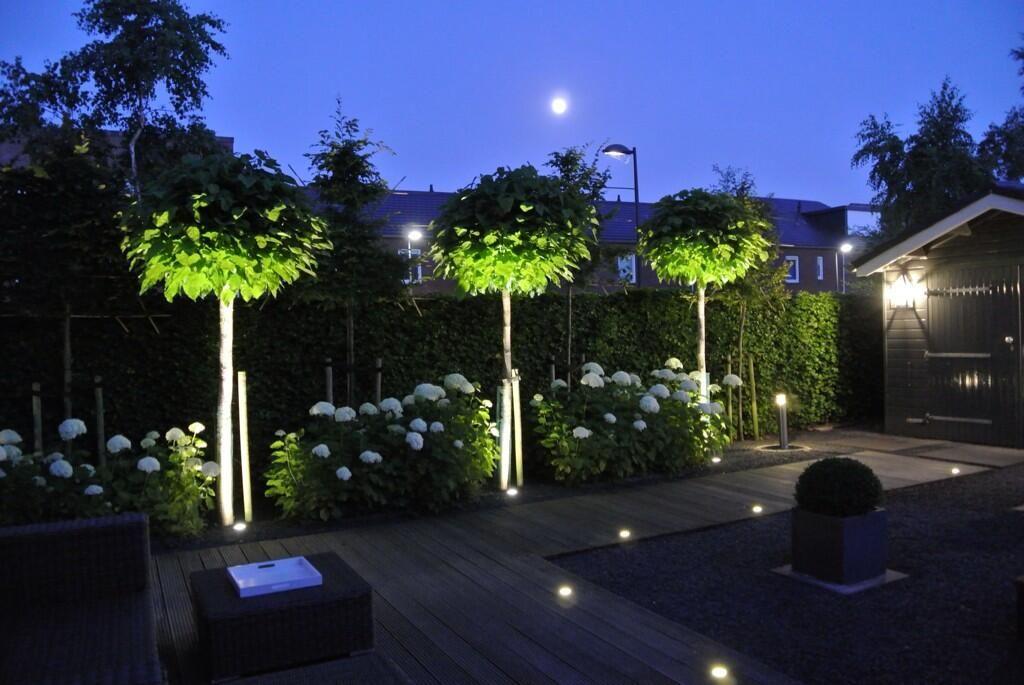Strahler Bäume Catalpas Außenbeleuchtung Garden Terrace Garden