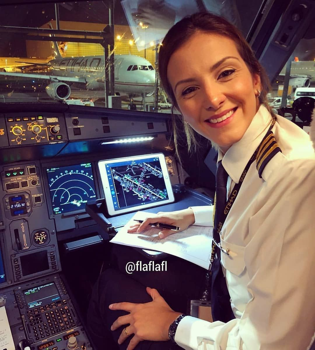 Dear most beautiful woman pilots we are connecting all