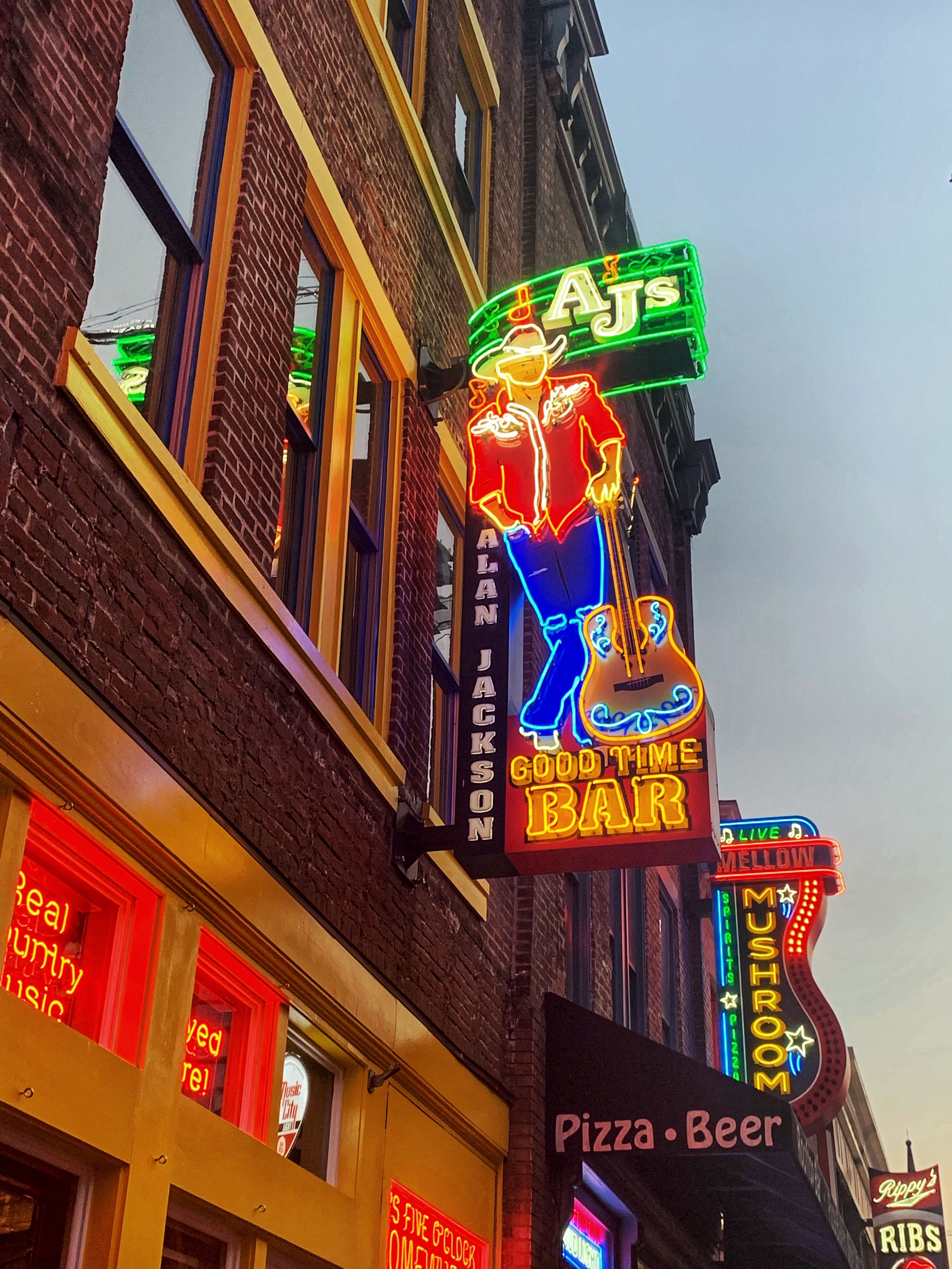 9890 the neon signs of nashville tennessee neon signs