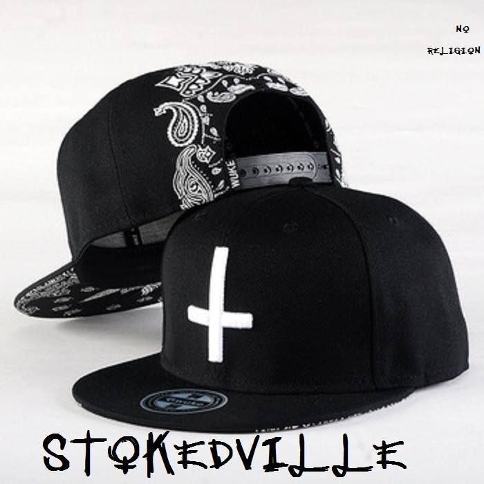 Inverted Cross hat - No Religion  Stokedville. Inverted Cross hat - No  Religion  Stokedville Black Snapback Hats ... feb2eaa86d2