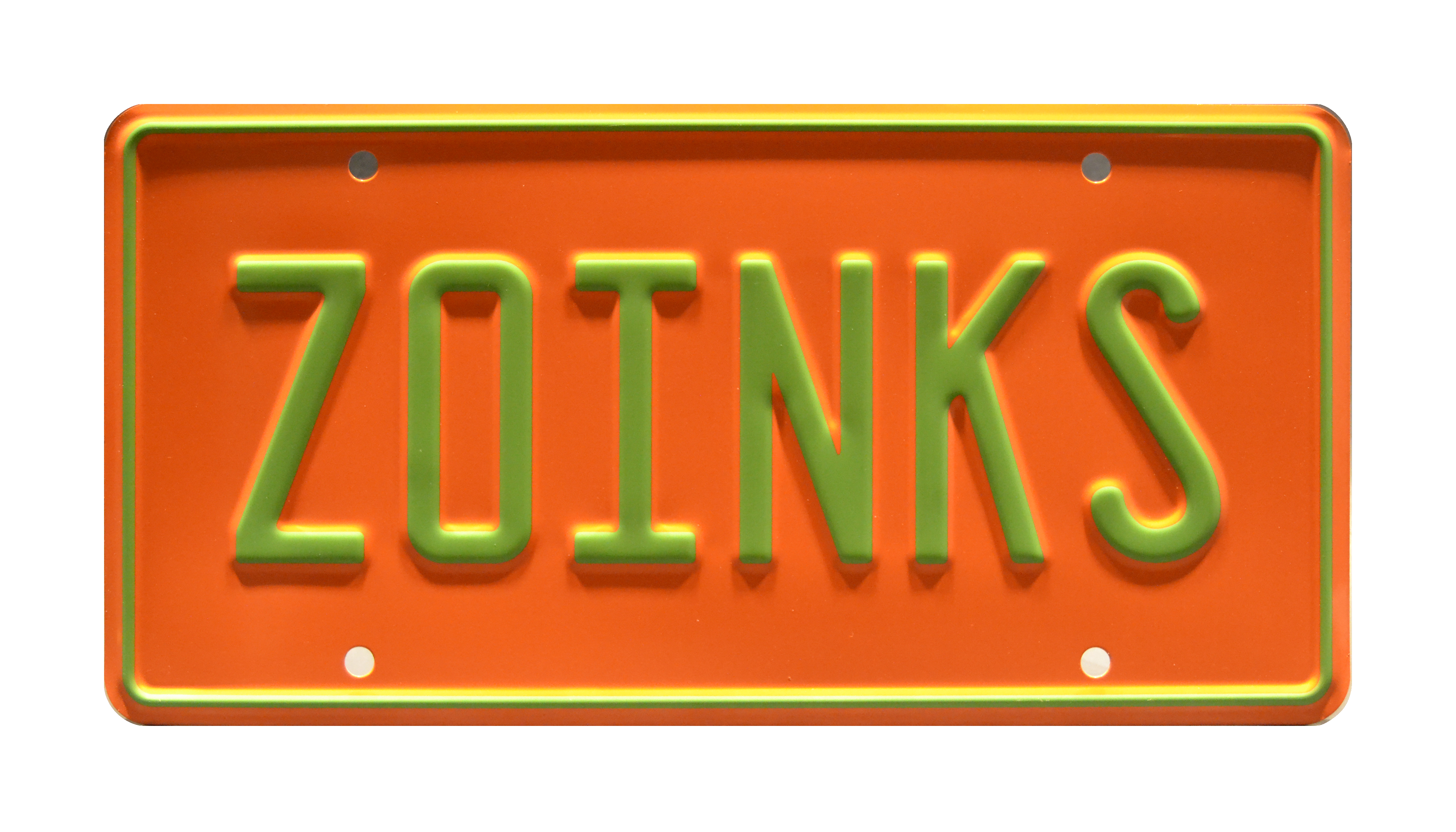 Scooby Doo The Mystery Machine Scooby Doo License Plate Metal Stamping