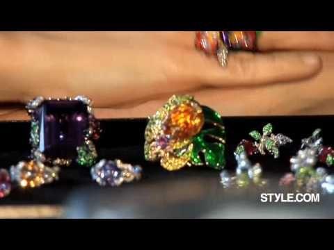 Victoire de Castellane is the jewelry designer at Christian Dior I