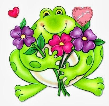 Flower Frog Frog Art Frog Drawing Frog Illustration