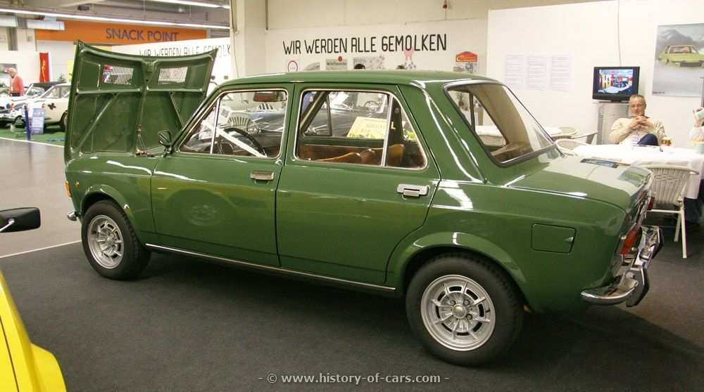 Fiat 128. I don't know why I love it but I do.