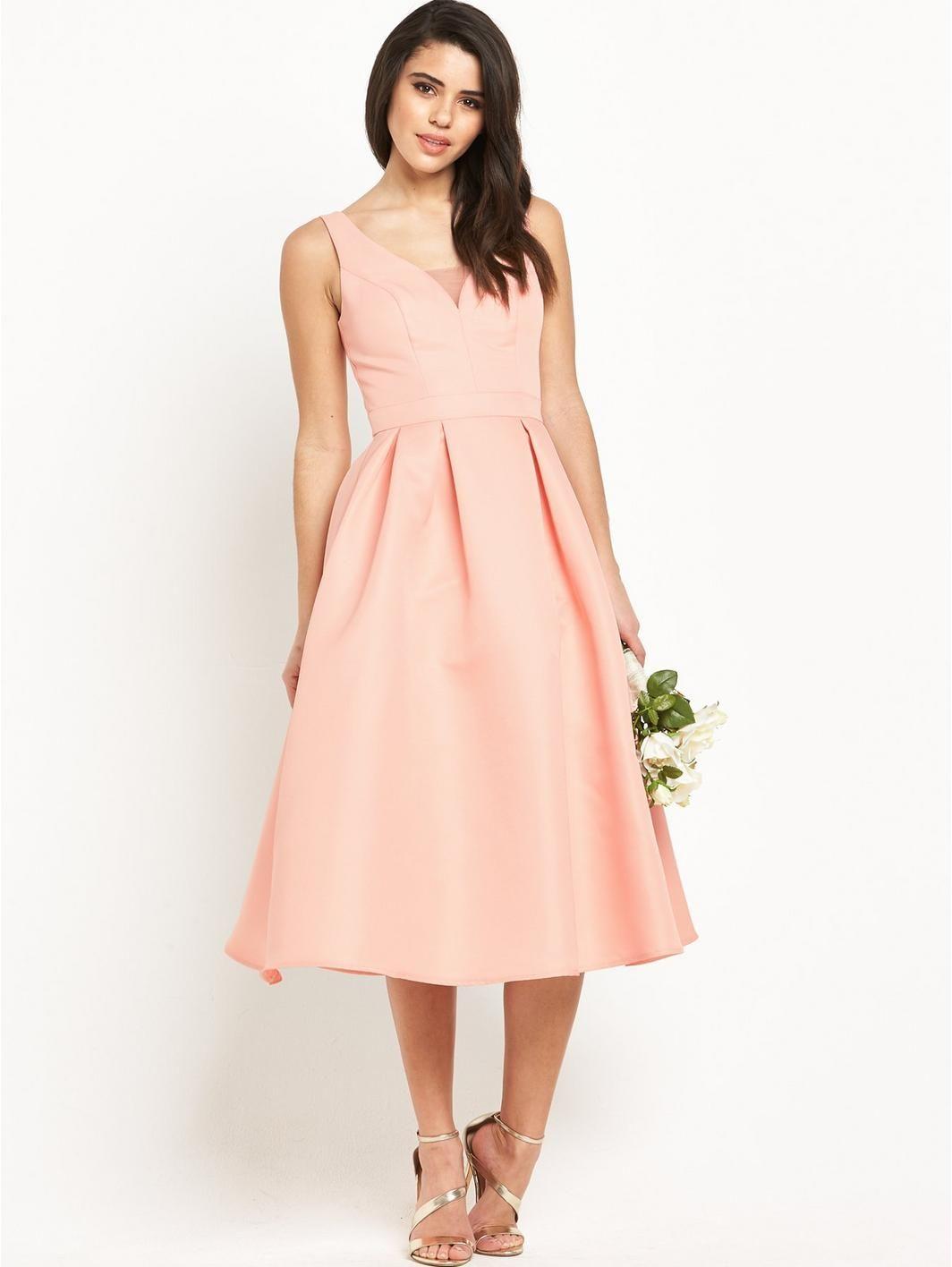 V neck midi prom dress httpverychi chi london v v neck midi prom dress httpvery ombrellifo Choice Image