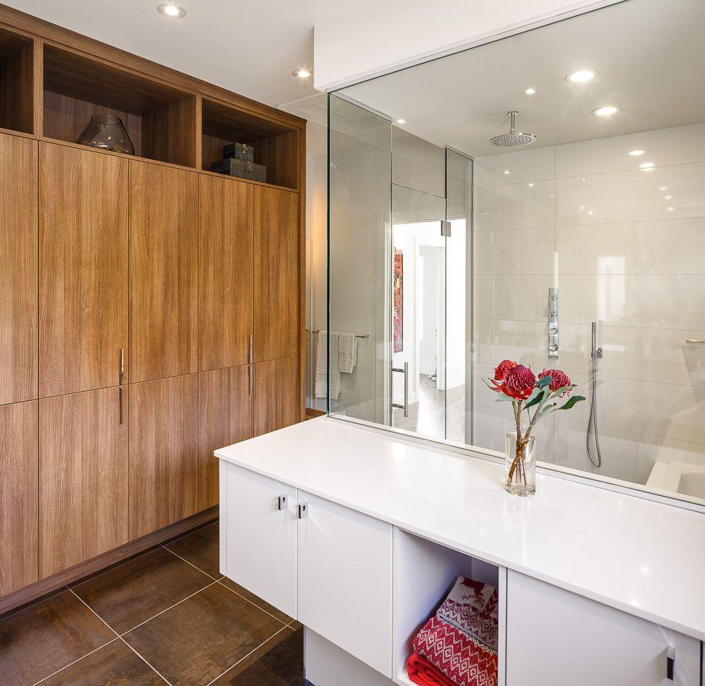 No Need To Worry About Bathroom Storage Here! Bathroom Design. Powder Room.  Bath