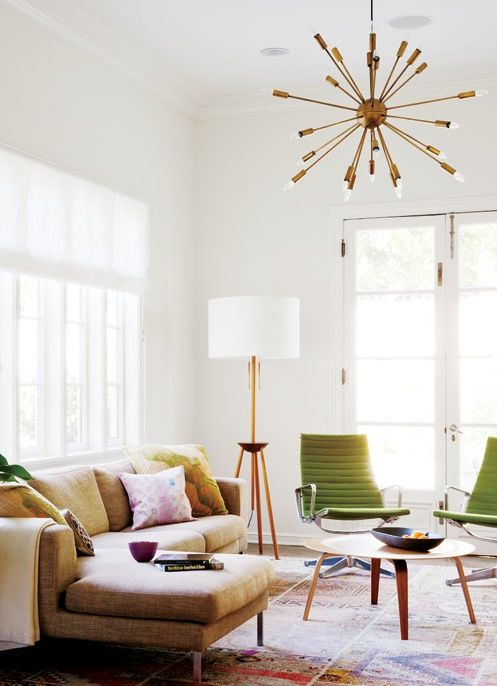 Mid Century Modern Living Room Lighting Cozy Furniture Interior California Chic In 2019 My Home Ideas And Inspiration Pinterest
