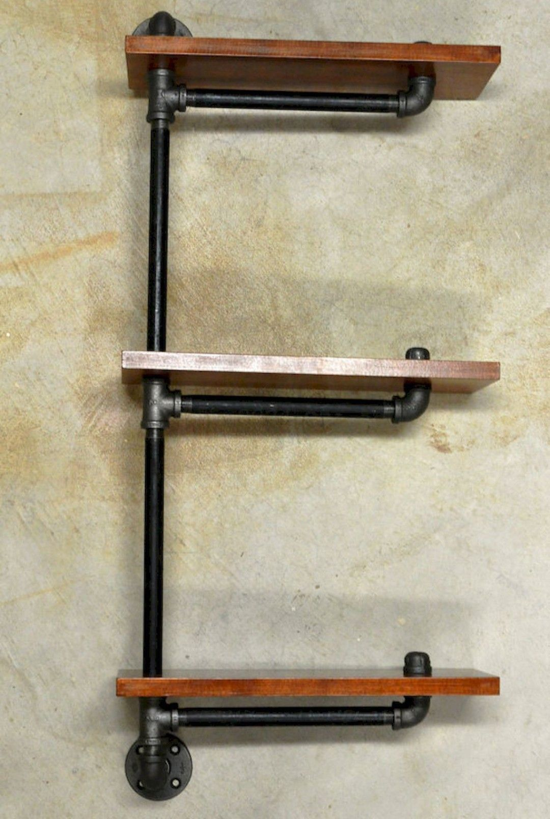 Pin By Mike Parks On Crafty Diy Pipe Shelves Pipe Shelves