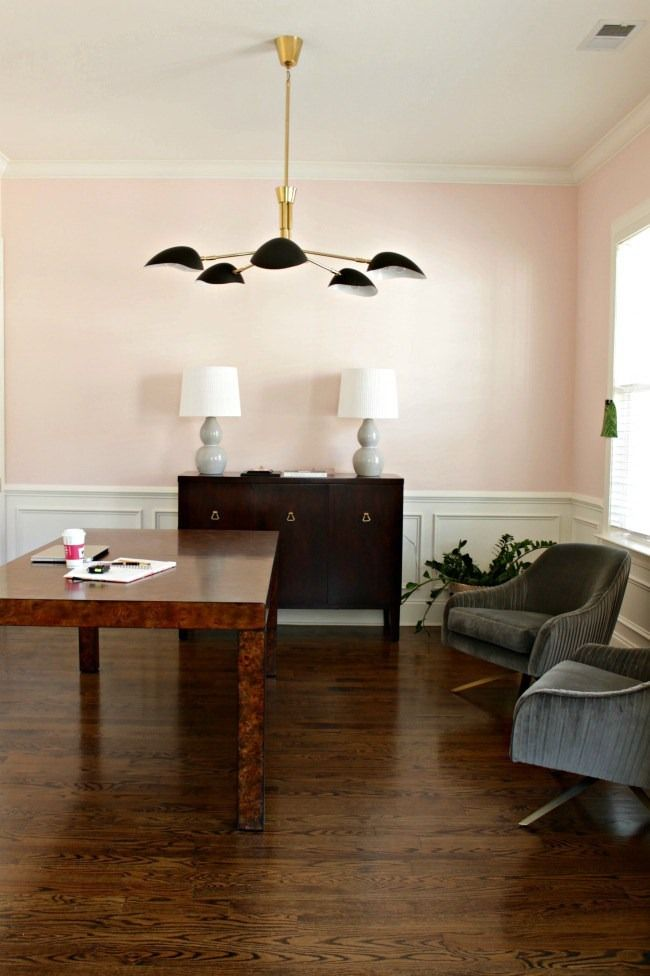 Love Super Subtle Soft Colors If So Did You Know You Can Have Any Sherwin Willia Living Room Decor Gray Light Pink Walls Dining Room Paint Color Inspiration #soft #colors #for #living #room
