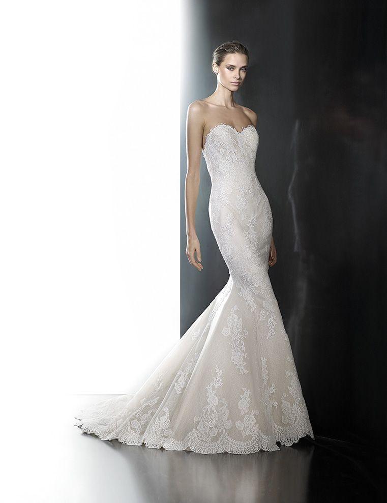 White Lily Couture Pronovias Princia Bridal Gown | The bride ...