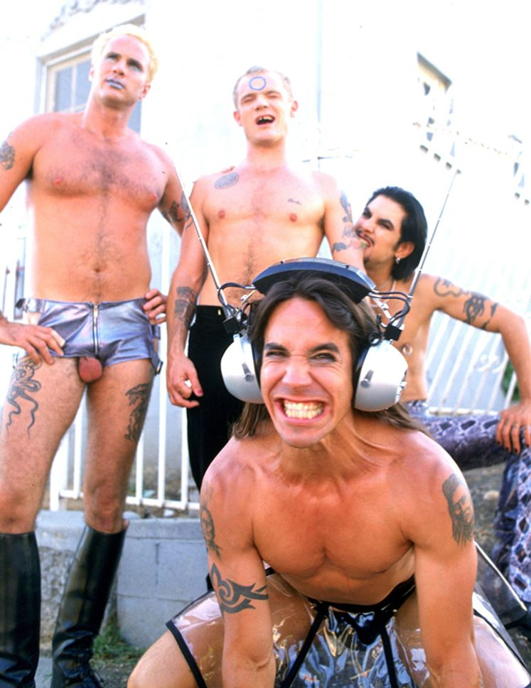 Red hot chili peppers nude photos 22