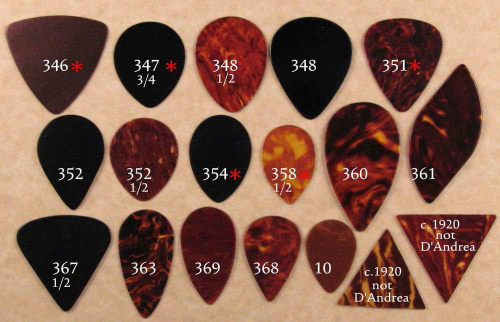 18 vintage guitar picks collection 18 different shapes plectrums guitar picks vintage. Black Bedroom Furniture Sets. Home Design Ideas