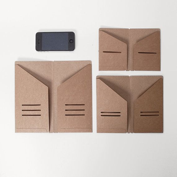 how to make a business card holder out of paper